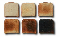 What the shade of your toast says about you