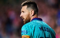 Lionel Messi Appears To Have Coloured In His Leg Tattoo With