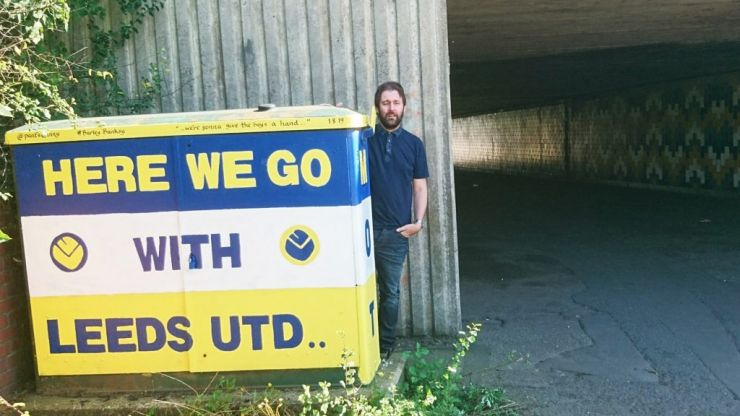 How Leeds United and painting helped Burley Banksy through difficult times