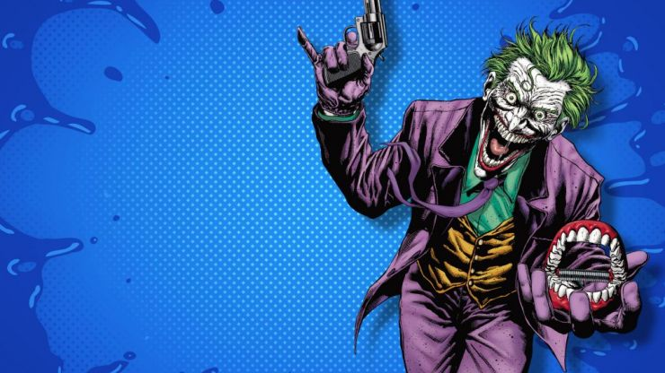 The history of The Joker - the Laughing Fish