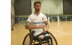 Soldier who lost legs in Afghanistan says wheelchair rugby saved his life