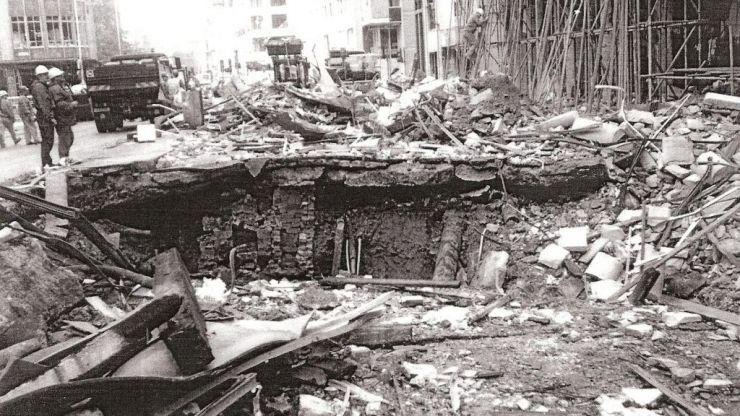Former boxer Nigel Travis on surviving the Bishopsgate bombing