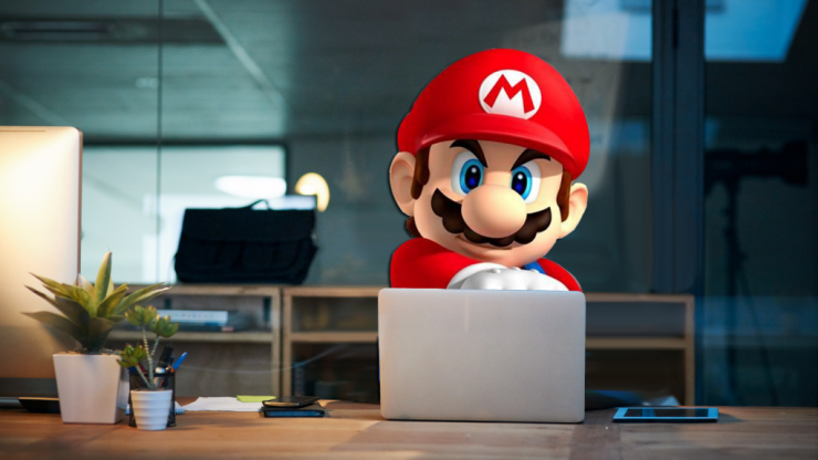 The five emotional stages of playing Mario Kart Tour during work