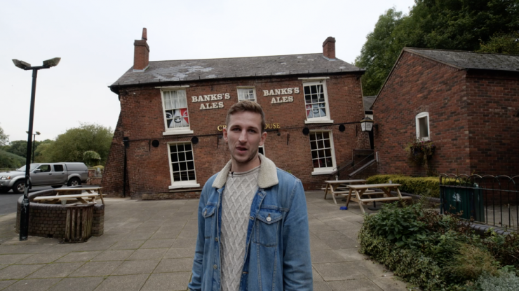 Welcome to the wonkiest pub in Britain