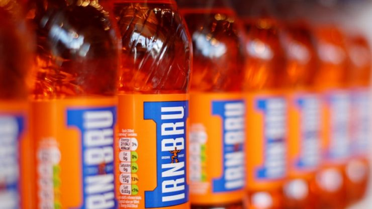The man who makes Irn-Bru doughnuts