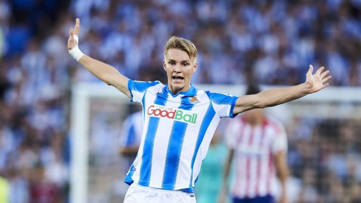 Dismissed as a 'flop' while still a teen, Martin Odegaard remains on the road to the top