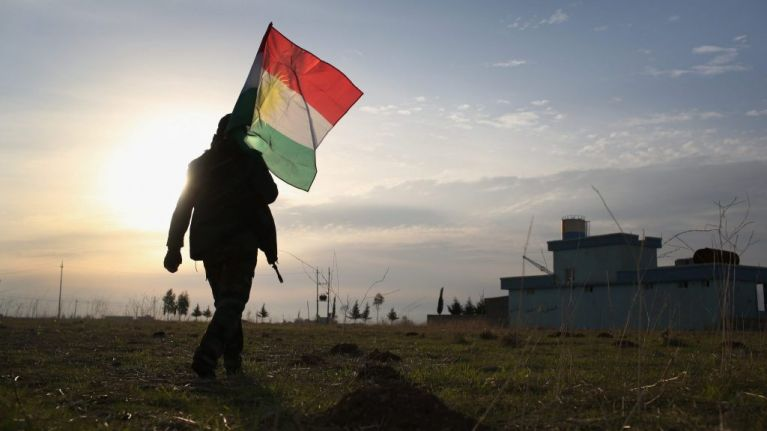 Meet the woman helping the Kurds rebuild their shattered society