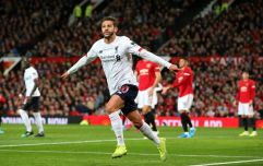 Liverpool salvage a draw against Man Utd on a confusing evening at Old Trafford