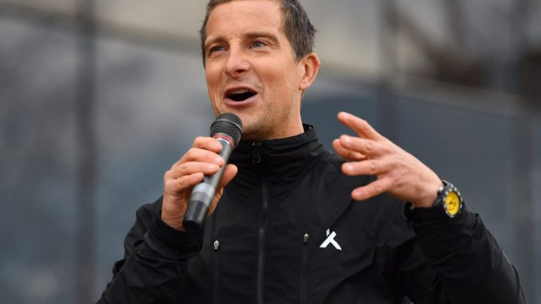Bear Grylls praises the youngsters fighting for the future of the world