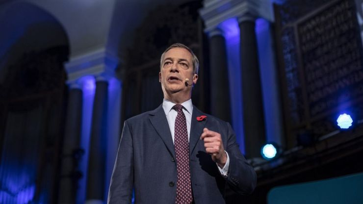 Is Nigel Farage afraid of the electorate?