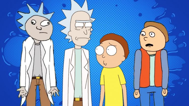 The Pre-History of Rick and Morty - Doc and Mharti
