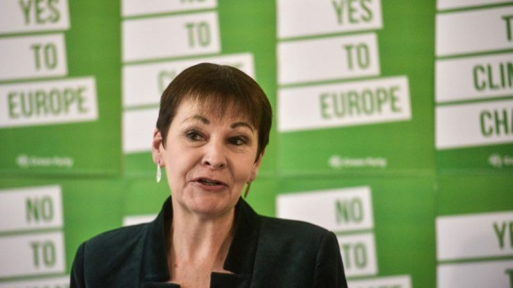 Caroline Lucas on why this is really the climate election