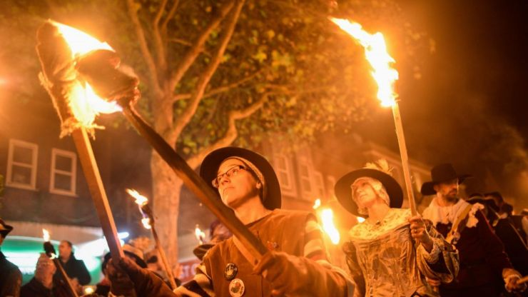 Lewes Bonfire: Britain's most dangerous Guy Fawkes celebration