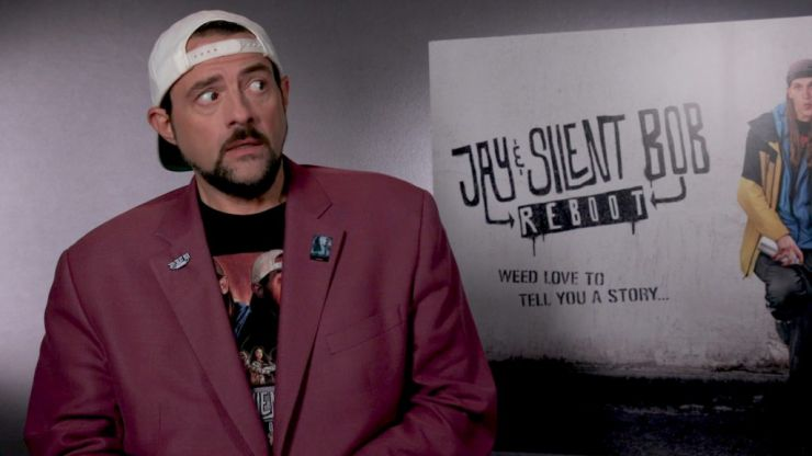 Kevin Smith has a message for Martin Scorsese about comic book movies