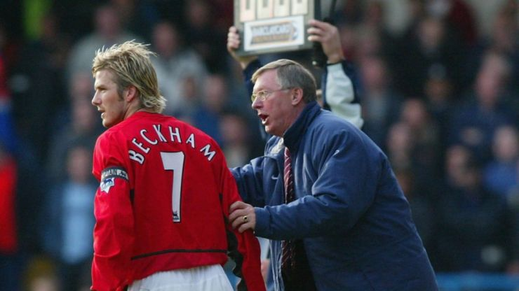 What really happened when Sir Alex kicked a boot at Becks' head
