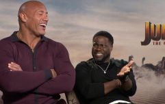 The Rock and Kevin Hart debate the merits of being tall and short