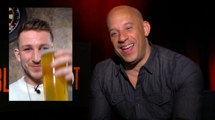 Having a pint with Vin Diesel over Skype