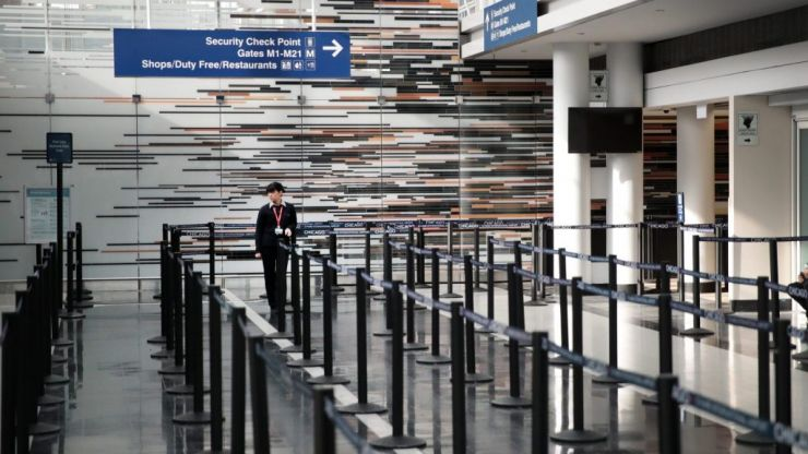 Travelling under lockdown: Busiest airports in the world go silent
