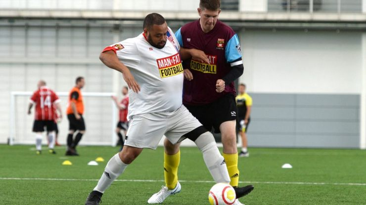 MAN v FAT: The weight-loss scheme with football at its core