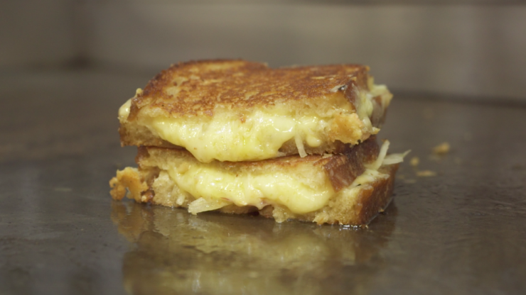 The secret to making the ultimate grilled cheese sandwich