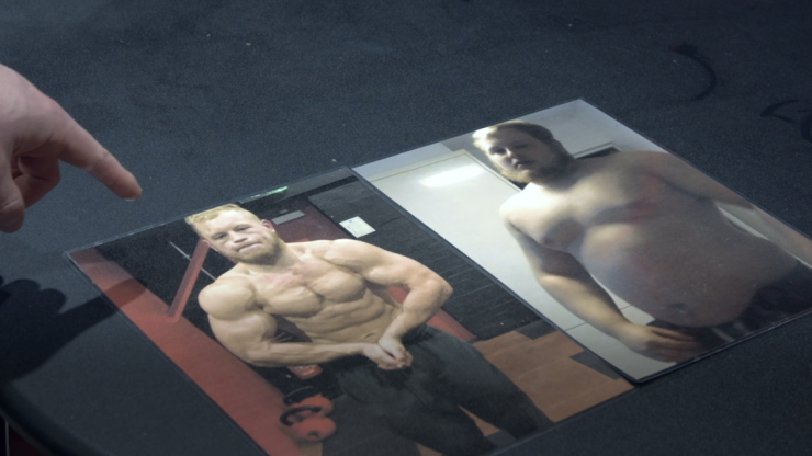 One man's inspiring 330lbs body transformation