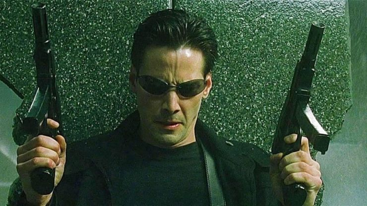 Grown man watches The Matrix for the first time
