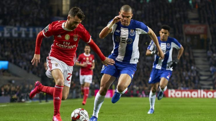Behind the scenes at FC Porto vs Benfica