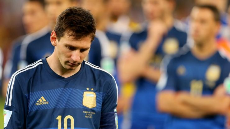 Lionel Messi's five worst career moments