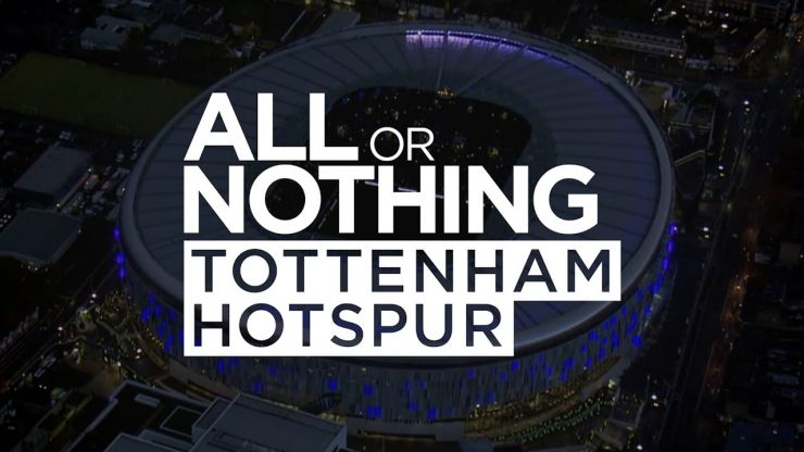 The teaser trailer for Spurs' documentary All Or Nothing has been released