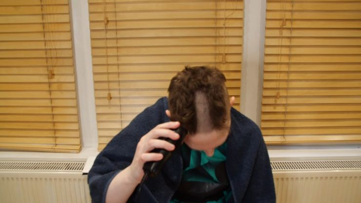 How to shave your head while in self isolation