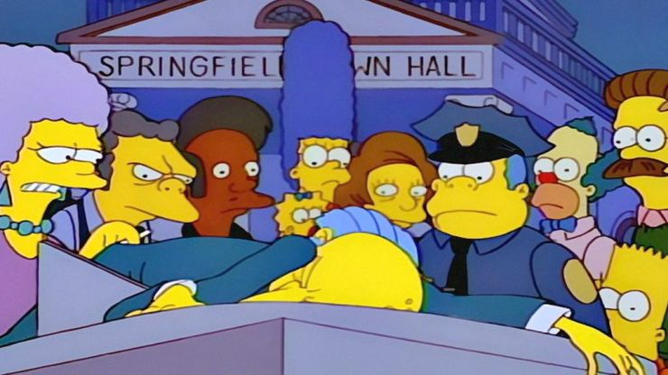 Members of Generation Z watch 'Who Killed Mr. Burns?'