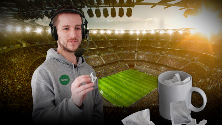 Fiverr: DIY indoor sports with professional commentary