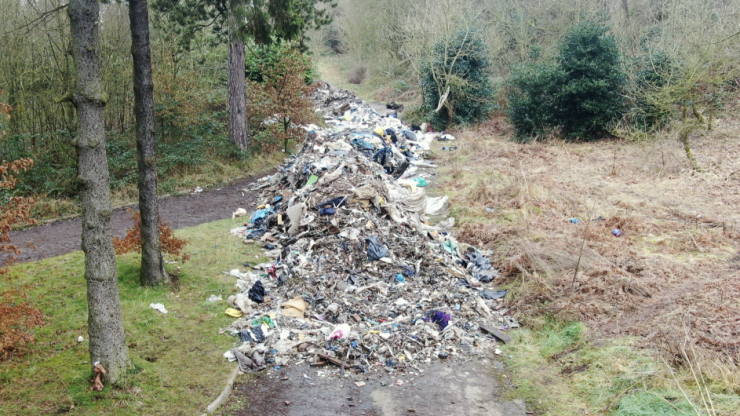 Inside Britain's lockdown fly-tipping crisis