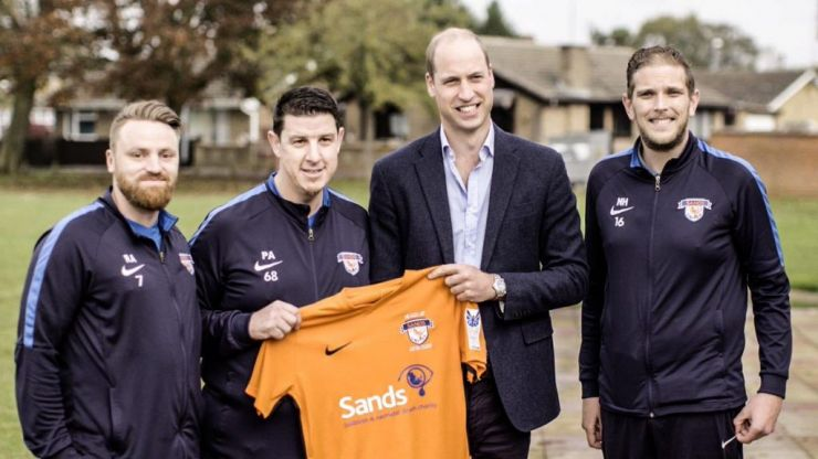 The football club helping men grieve the loss of a child