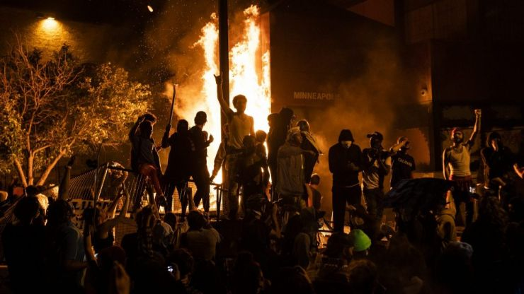 George Floyd: Riots break out in Minneapolis over killing