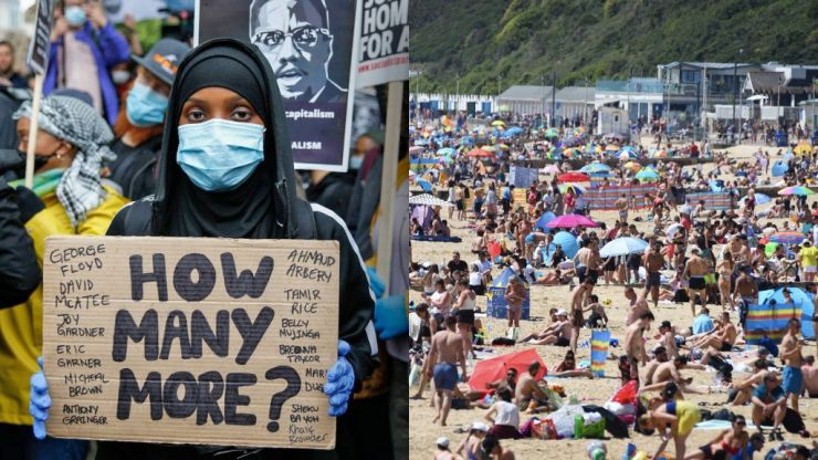 Why #blacklivesmatter protests are different from going to the beach