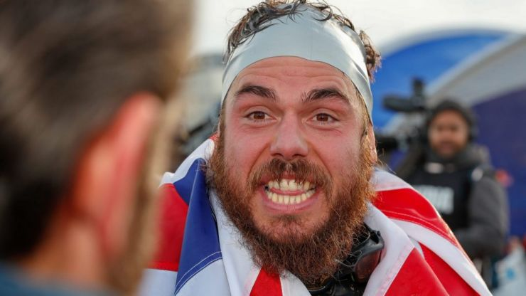 Ross Edgley: The 15k calorie diet needed to swim the entire UK coastline