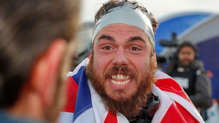 Ross Edgley: The 15k calorie diet needed to swim the entire UK coastline