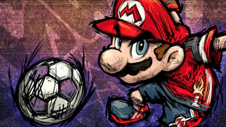 Super Mario Strikers: The craziest football game ever made