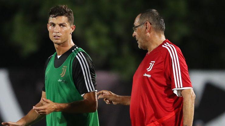 Maurizio Sarri was never compatible with Juventus' Ronaldo experiment