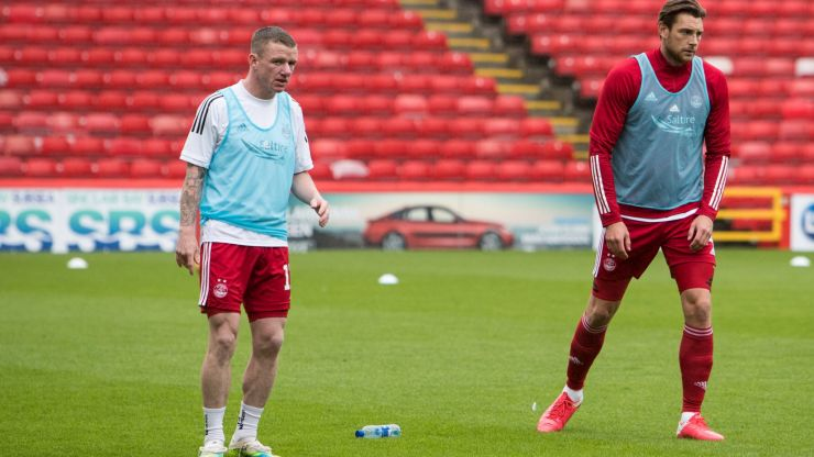Jonny Hayes and Aberdeen teammates apologise after Covid cluster shutdown