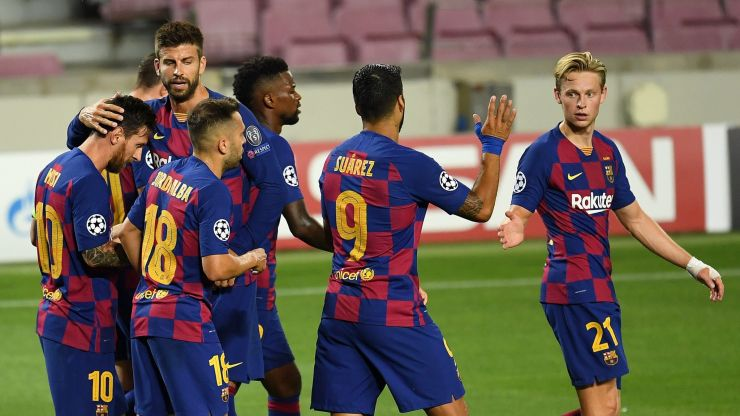 Why Barcelona weren't wearing their new kit against Napoli