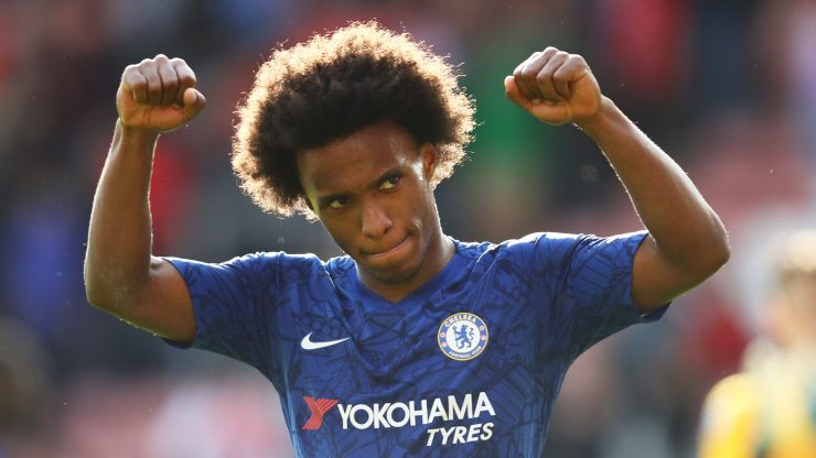 Arsenal-bound Willian posts farewell message to Chelsea fans