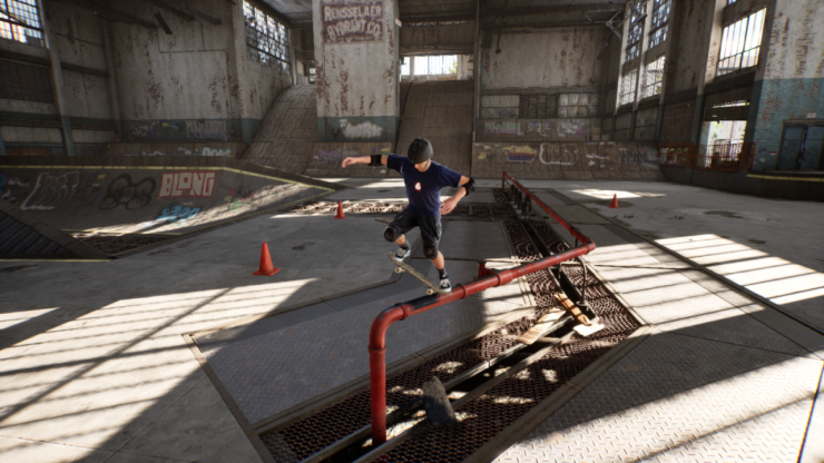 Hands-on with the Tony Hawk's remaster - time to get excited