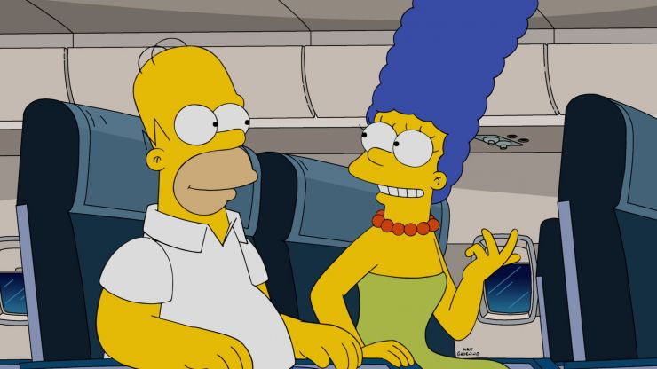 Marge Simpson responds to Trump advisor saying Kamala Harris sounds like her