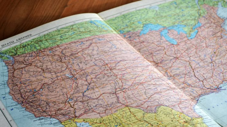 QUIZ: Name the US States which contain the letter 'S'