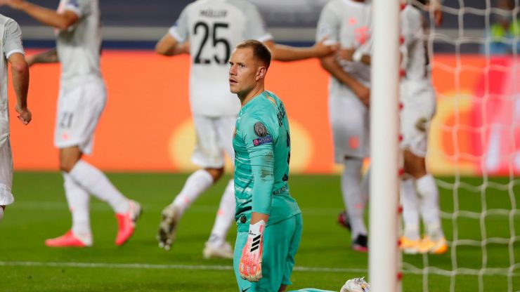 Manuel Neuer 'feels sorry' for Marc-Ander Ter Stegen after 8-2 drubbing