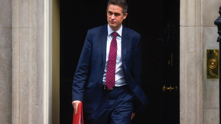 Gavin Williamson nominated for MP of the year award
