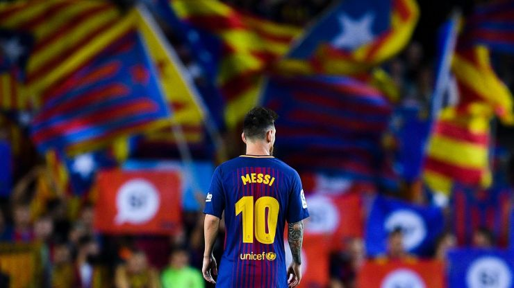 His time at Barca is over, now it's time for Messi to do the noble thing