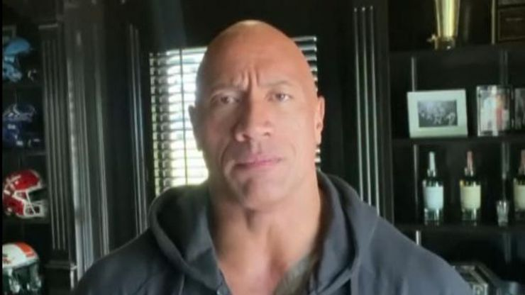 """Dwayne """"The Rock"""" Johnson confirms he and his family tested positive for Covid-19"""